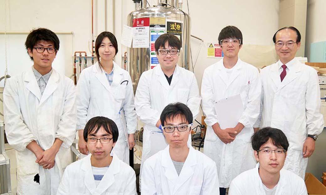 合成超分子化学グループ(廣瀬敬治准教授)